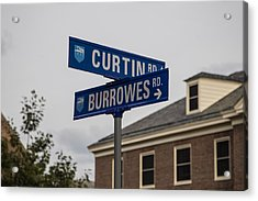 Curtin And Burrowes Penn State  Acrylic Print by John McGraw