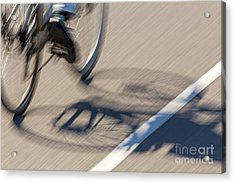 Cycling Two Acrylic Print by Kate Brown