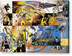 Da Bears V3 Acrylic Print by Jimi Bush