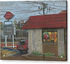 Dairy Queen Acrylic Print by Donald Maier