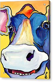 Dairy Queen I   Acrylic Print by Pat Saunders-White