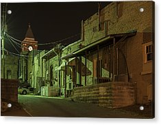 Dallas Alley Acrylic Print by Robert Myers