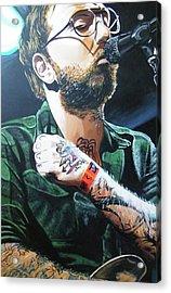 Dallas Green Acrylic Print by Aaron Joseph Gutierrez