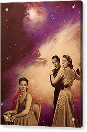 Dance Card  Acrylic Print by Jayne Surrena