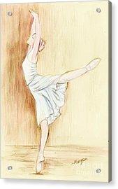 Dancer Acrylic Print by Morgan Fitzsimons
