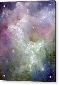 Dancing Angels Acrylic Print by Marina Petro