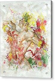 Dancing Apollo Acrylic Print by Rineke De Jong