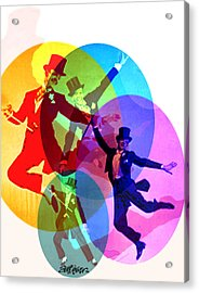 Dancing On Air Acrylic Print by Seth Weaver