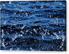 Dancing Water Acrylic Print by Debbie Oppermann