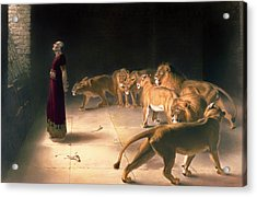 Daniel's Answer To The King Acrylic Print by Mountain Dreams