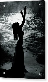 Dark Blessings Acrylic Print by Cambion Art