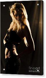 Dark Mysterious Dancer Acrylic Print by Jorgo Photography - Wall Art Gallery