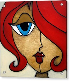 Darling Acrylic Print by Tom Fedro - Fidostudio