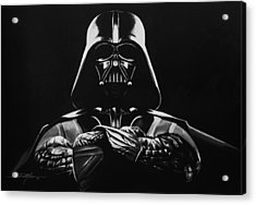 Darth Vader Acrylic Print by Don Medina