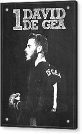 David De Gea Acrylic Print by Semih Yurdabak