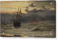 Dawn After The Storm Acrylic Print by William Lionel Wyllie