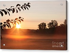Dawn Of A Brand New Day  Acrylic Print by Cathy  Beharriell