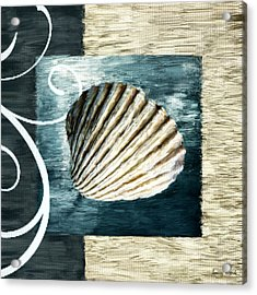 Day At The Beach Acrylic Print by Lourry Legarde