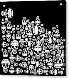 Day Of The Dead Acrylic Print by Mark Ashkenazi
