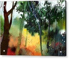 Daybreak Acrylic Print by Anil Nene
