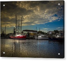 Daybreak On The Captain Jack Acrylic Print by Marvin Spates