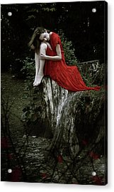 Daydreamer Acrylic Print by Cambion Art