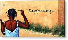 Daydreaming In Haiti Acrylic Print by Janet King