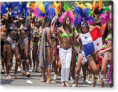 Dc Caribbean Carnival No 11 Acrylic Print by Irene Abdou