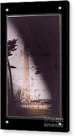 Dc Grunge  Acrylic Print by Lynn Gettman