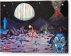 Death On Io Acrylic Print by Chris Benice