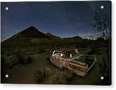 Death Valley Drive-in Acrylic Print by Sean Foster