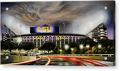 Death Valley Game Time Acrylic Print by Mike Roberts