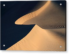 Death Valley Sand Design Acrylic Print by Pierre Leclerc Photography