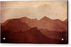 Death Valley Acrylic Print by Scott Norris