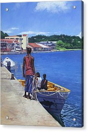 Debarkation Acrylic Print by Colin Bootman