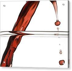 Decanting Wine Acrylic Print by Frank Tschakert