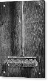 Deck Scrub Brush Acrylic Print by YoPedro
