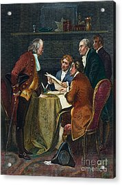 Declaration Committee Acrylic Print by Granger