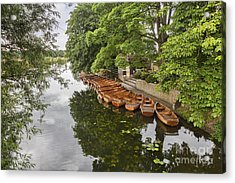 Dedham Vale Suffolk Acrylic Print by Colin and Linda McKie
