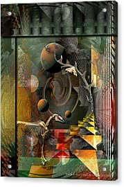 Deep Soul Journey Acrylic Print by Mimulux patricia no