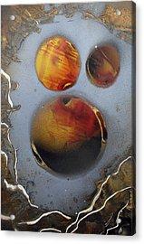 Deep Space Acrylic Print by Arlene  Wright-Correll