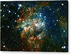 Deep Space Star Cluster Acrylic Print by The  Vault - Jennifer Rondinelli Reilly
