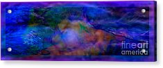 Deep Waters Acrylic Print by Glenyss Bourne