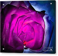 Deep Within Your Heart Acrylic Print by Krissy Katsimbras