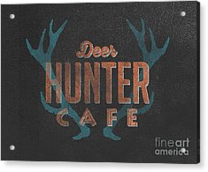 Deer Hunter Cafe Acrylic Print by Edward Fielding