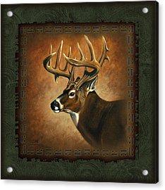 Deer Lodge Acrylic Print by JQ Licensing