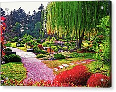 Denver Botanical Gardens 1 Acrylic Print by Steve Ohlsen