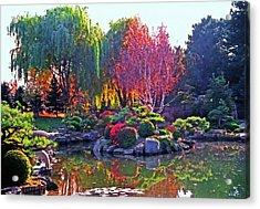 Denver Botanical Gardens 3 Acrylic Print by Steve Ohlsen