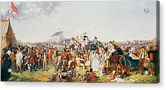 Derby Day Acrylic Print by William Powell Frith