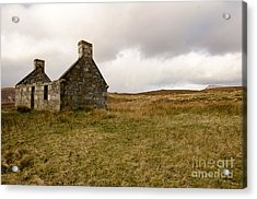Derelict  Acrylic Print by Stephen Smith